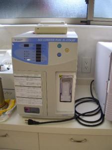 細菌感染症など迅速に検査ができます